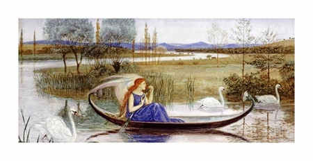 "Walter Crane Fine Art Open Edition Giclée:""The Enchanted Boat"""