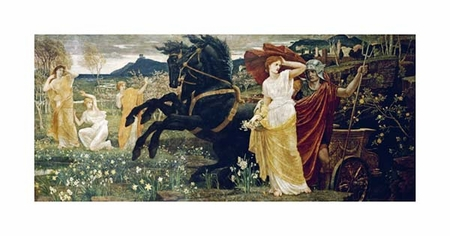 "Walter Crane Fine Art Open Edition Giclée:""The Fate of Persephone"""