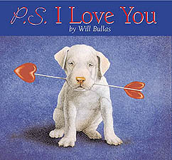 "Will Bullas Fine Art Hardcover Book :""P.S. I Love You"""