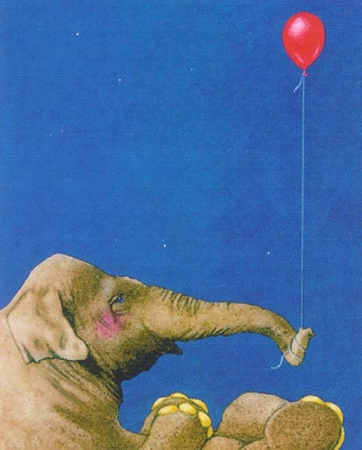 "Will Bullas Fine Art Signed Open Edition Paper :""The Red Balloon"""