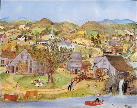 "Will Moses Handsigned & Numbered Limited Edition Print:""Down In The Valley"""