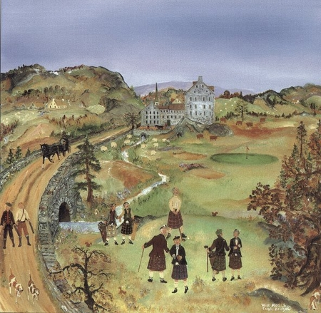 "Will Moses Handsigned & Numbered Limited Edition Print :""The Old Rugged Course"""