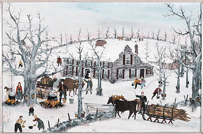 "Will Moses Handsigned & Numbered Limited Edition:""Sugar Grove """