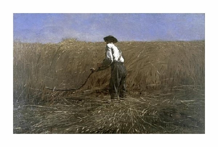 "Winslow Homer Fine Art Open Edition Giclée:""The Veteran in a New Field"""
