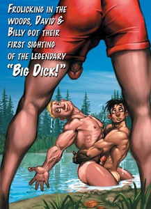 """BIG DICK"" Gay Birthday Card - click to enlarge"