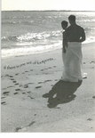 One Set Of Footprints..- Love Gay Card