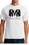 Two Tuxedos Personalized Gay Marriage T-Shirt