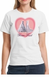 Two Wedding Dresses Personalized Gay Marriage T-Shirt