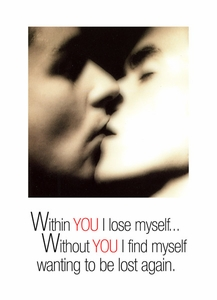 Within You… - Gay Love/Romance Card - click to enlarge
