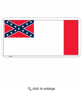 3rd Confederate License Plate