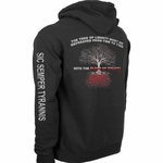 Black Blood of Tyrants Hooded Sweatshirt
