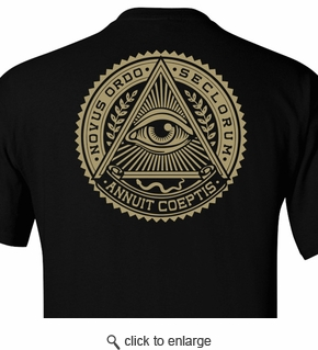 New order of the ages: Black T-shirt