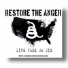 FREE Restore the Anger Sticker with every purchase
