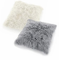 "32"" x 32"" Large Mongolian Cushion Pillows (Set of 3)"