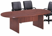 8' Racetrack Conference Table (5 Finish Choices)