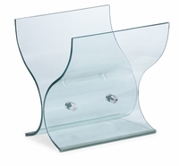 Adventure Magazine Rack Clear