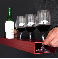 Aluminum Modern Wine Tray UU22 by MuNiMulA