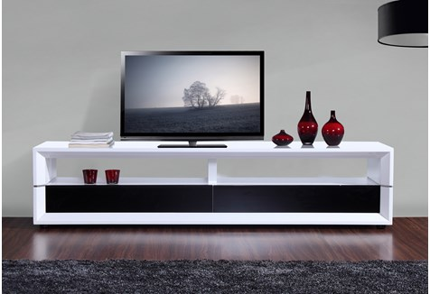 b modern executive 78 7 high gloss white tv stand bm 629 wht. Black Bedroom Furniture Sets. Home Design Ideas