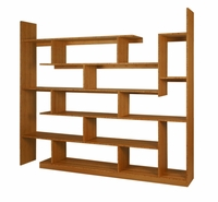 Bamboo Stagger Bookshelf by Brave Space Design