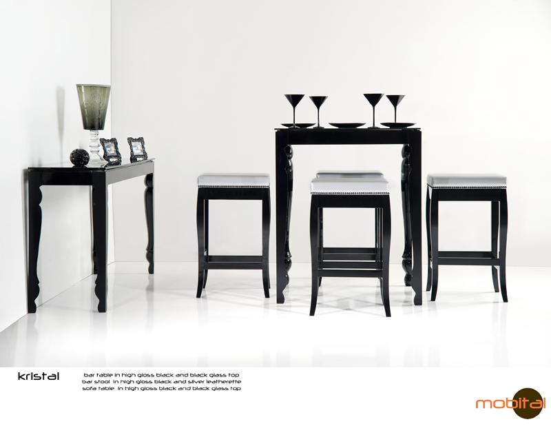 Shop Bar Stool Kristal High By Mobital Furniture For 181