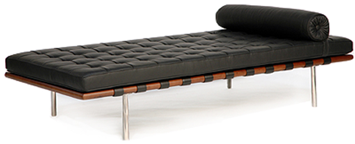 Barcelona Reproduction Pee Daybed 72 100 Italian Leather In Stock Click