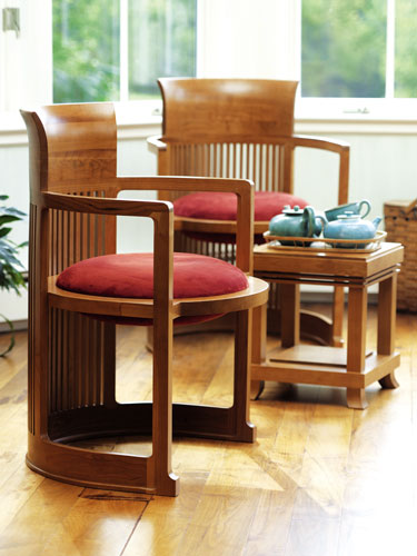 Barrell Chair - Click to enlarge