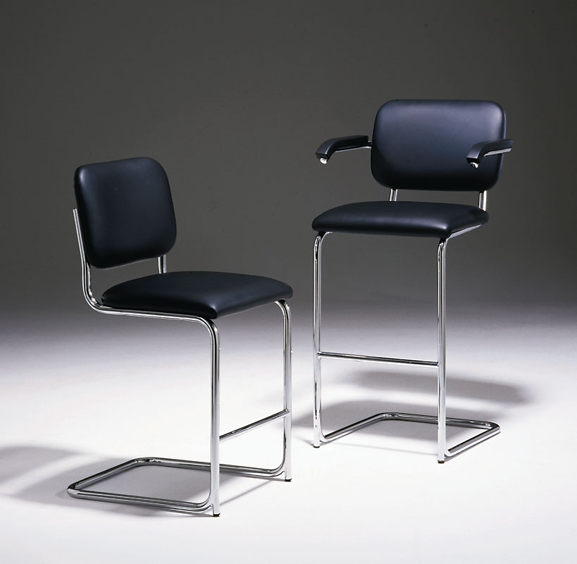 Shop Breuer Cantilever Upholstered Bar Stool Marcel