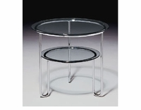 Breuer Laccio Glass End Table