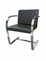 Brno Flat Chair Mies van der Rohe Reproduction