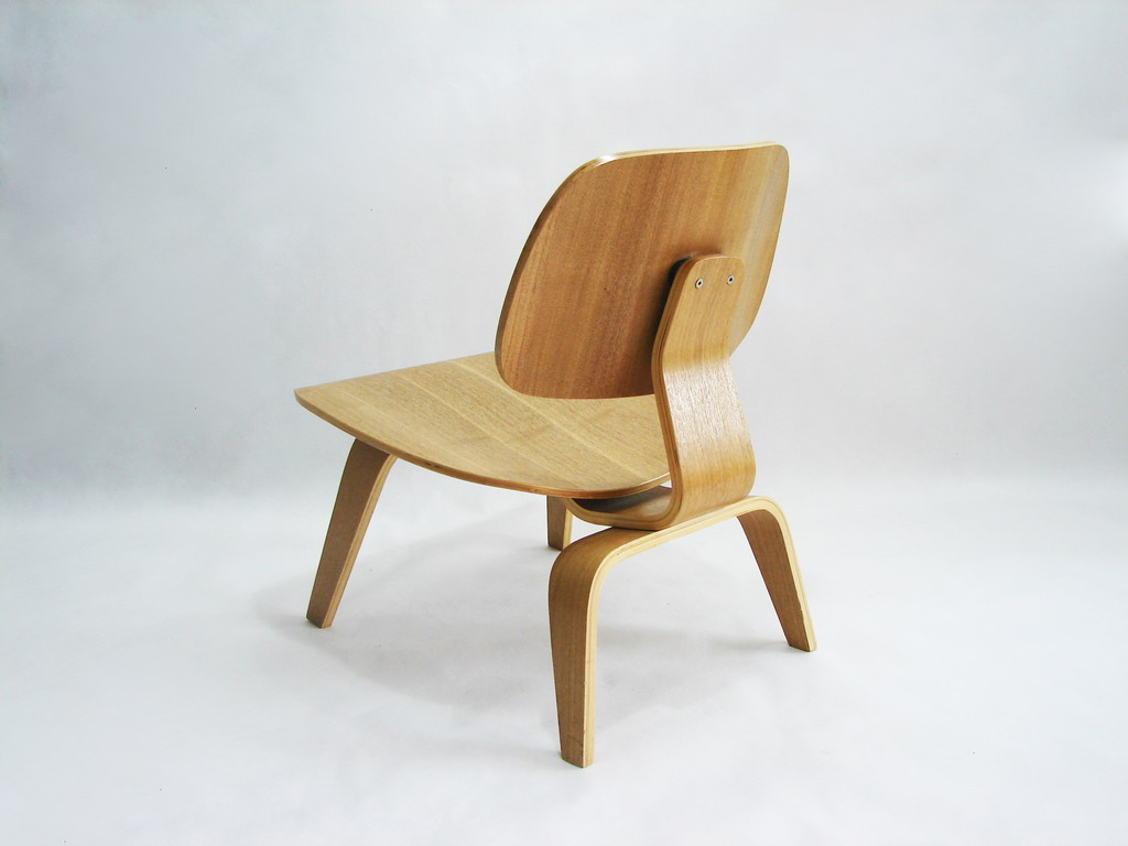 Bent plywood chair eames - Shop Eames Style Bent Plywood Lounge Chair With Wooden Legs For Only 274
