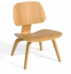 Classic Bent Plywood Lounge Chair with Wooden Legs