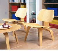 Classic Plywood Chairs & Table