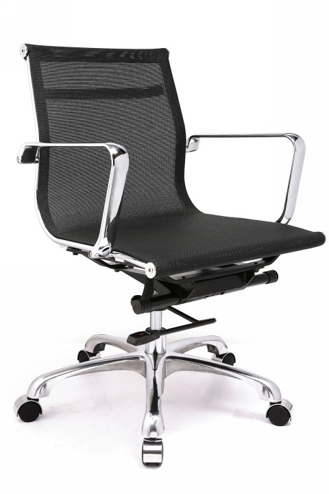 Classic  Style Mesh Low Back Team Office Chair - Click to enlarge