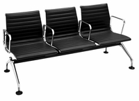 Eames Aluminum Group Management 3 Seat Sofa