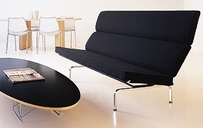 Eames Elliptical Coffee Table - Click to enlarge