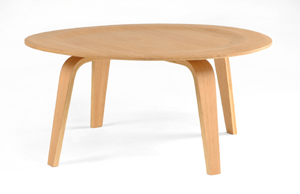 Shop eames style molded bent plywood cocktail table for for Eames style coffee table