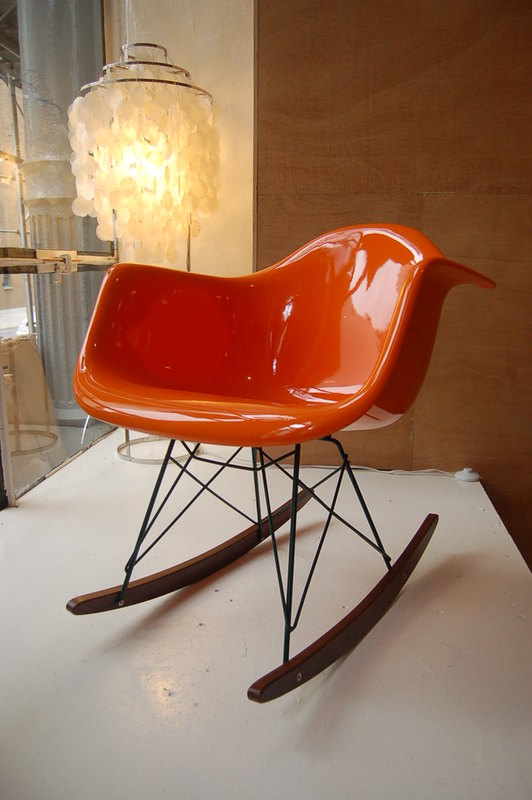 Shop CE Molded Plastic Shell Rocker Chair for only 369