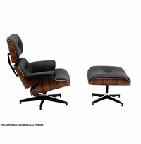 Eames Style Classic Mid-Century Lounge Chair