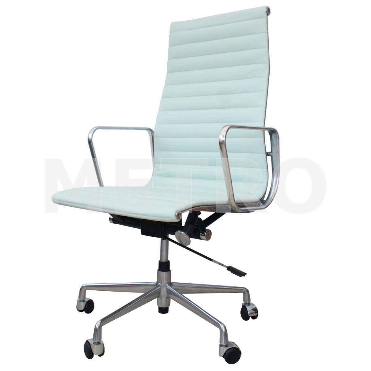 eames style high back chair