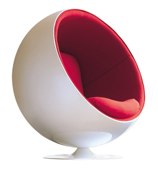 shop eero aarnio ball chair for only 1599. Black Bedroom Furniture Sets. Home Design Ideas