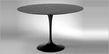 Eero Saarinen Tables And More Modern Furniture At Discount Price - Black marble tulip dining table