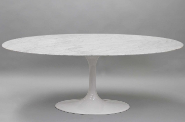 Shop Eero Saarinen Tables Base X Oval For Only - Saarinen tulip table base only