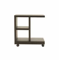 FLOAT NIGHT TABLE WITH WHEELS