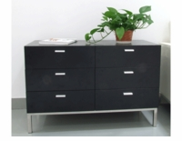 Florence Knoll 2 Unit Credenza 6 Box Drawer