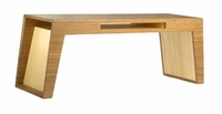Hollow Coffee Table (with slot) by Brave Space Design