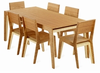 Hollow Dining Table by Brave Space Design (no chairs)