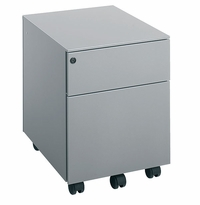 Illusion 300 2-Drawer Mobile Pedestal by Dams