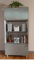 Illusion 300 Bookcase/Filing/Storage Tower by Dams