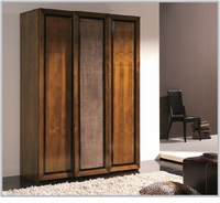 Japon 91 inch Cupboard of 3 doors (1 in rattan)