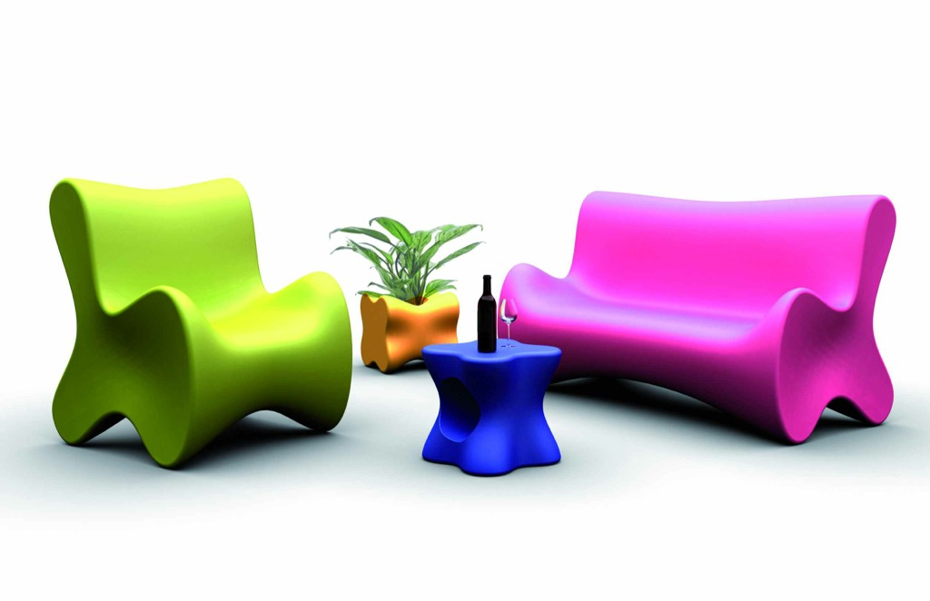 Karim  Rashid  Collection by Vondom - Click to enlarge
